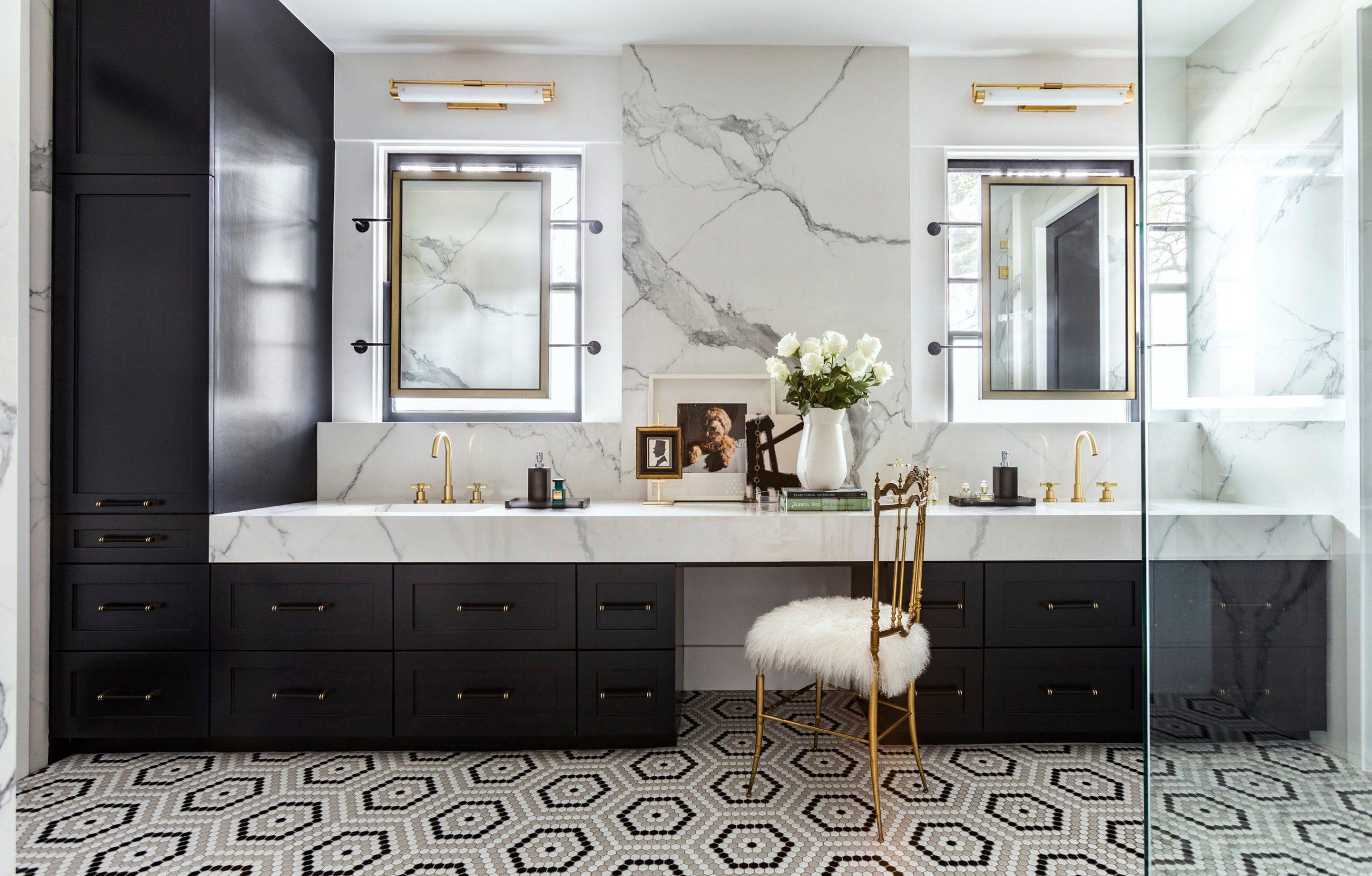 Bathroom design with tile flooring - Creative tonic