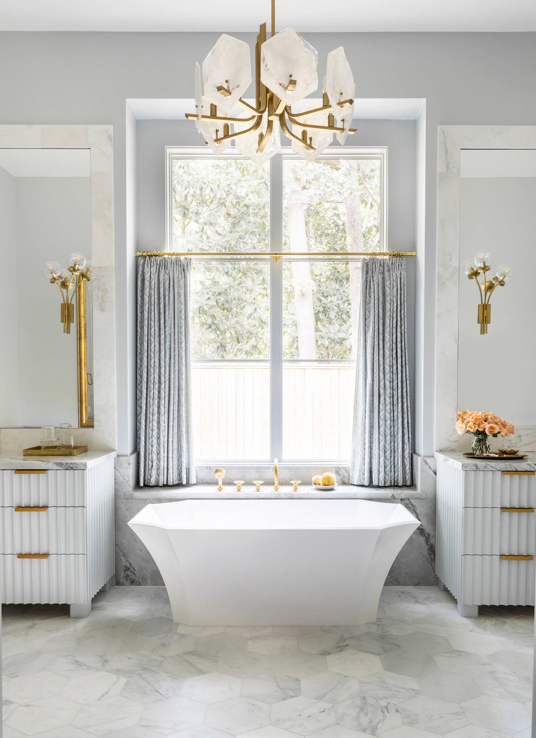 Bright Luxury Bathroom Design Creative Tonic