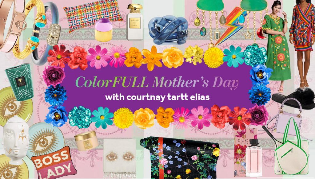 Colorful Shopping Mother's Day Gifts