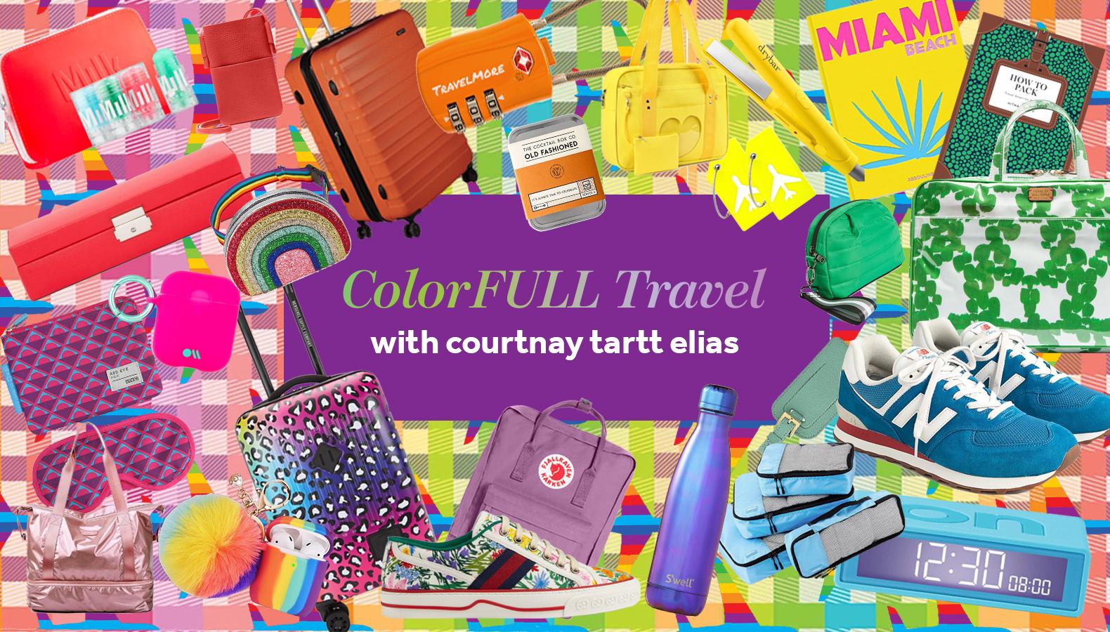 SHOP ColorFULL Travel Necessities