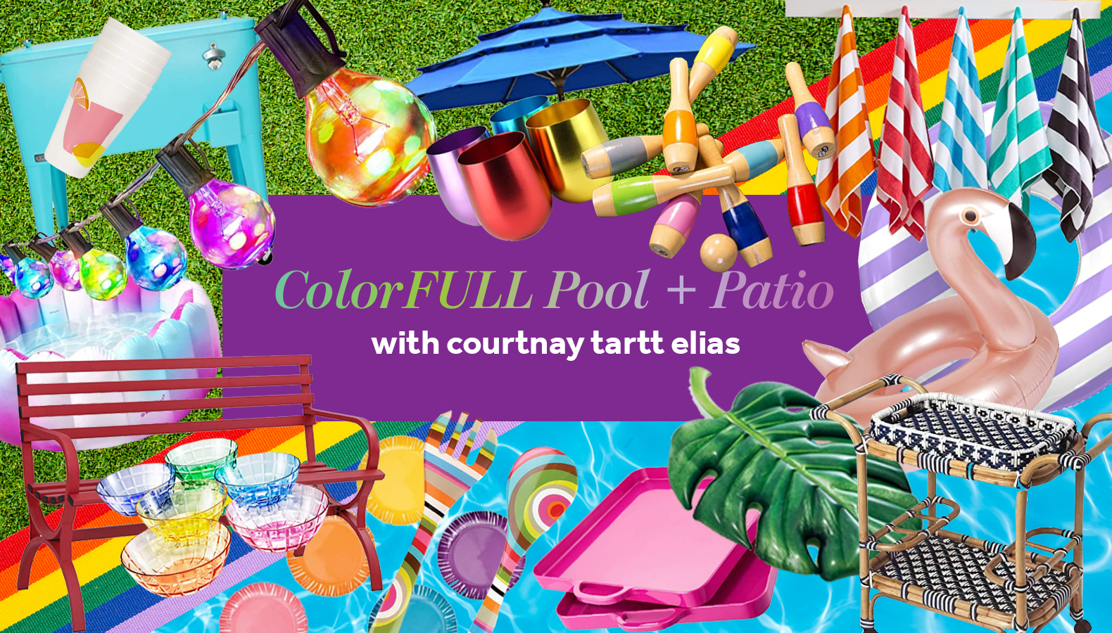 ColorFULL Pool and Patio